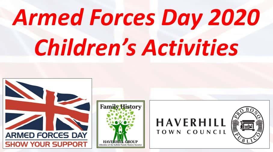 Children's Activities Header Image
